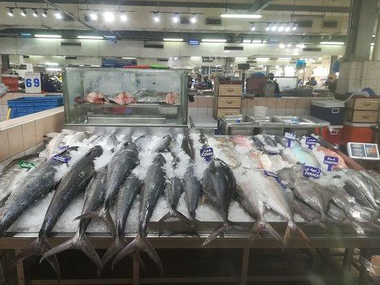 Fish market Al Mina