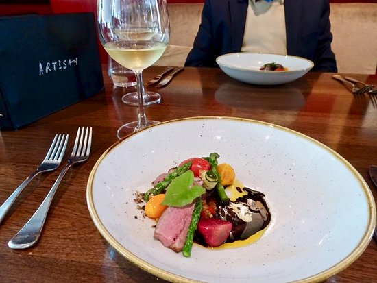 2nd Course of 5: Lamb Paired w/Giesen, The Brothers Chardonnay, Marlborough 2018