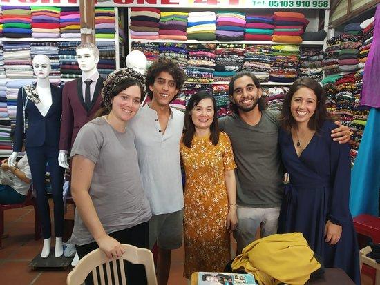 41 Tailor Inside Hoi An Cloth Market