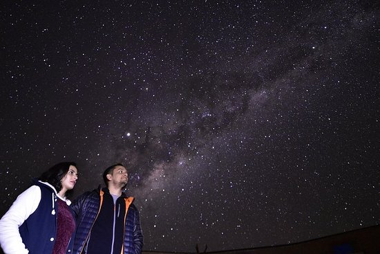 Astronomical tour with guide and pick...