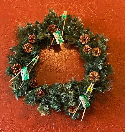 Christmas wreath/decor.