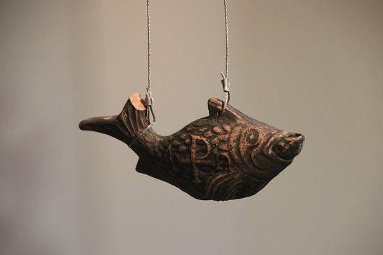 An amazing terracotta fish