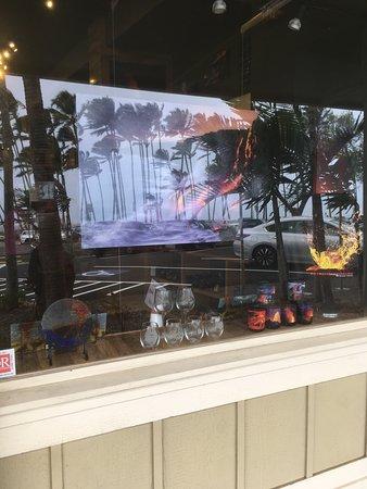 Extreme Exposure Gallery street display window.
