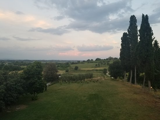 Farnetella, Italija: View of property from my room