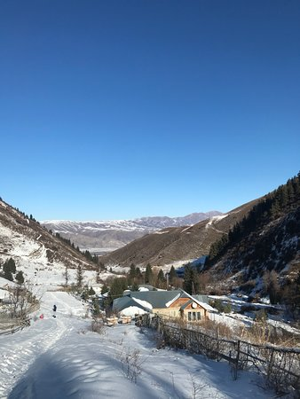 Chon Kemin Valley in Winter