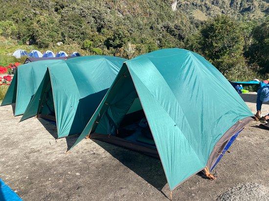 Classic Inca Trail to Machu Picchu 4D: Tents