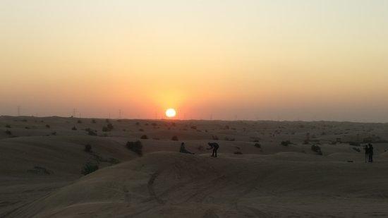 Abu Dhabi 6-Hour Desert Safari With BBQ Dinner: Sunset @ Arabian Desert
