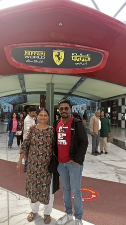 Ferrari World Abu Dhabi Admission Ticket: Ferrari World - Here we come...