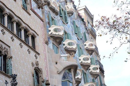Barcelona & Gaudi. Regular Tour: Gaudi's Casa Batllo, Barcelona, Spain
