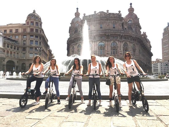 A Genova é estate tutto l'anno, vieni a visitare il centro storico più grande d'Europa!