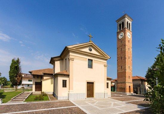 Morsano di Strada, Italia: the parish church