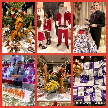 Christmas 2019: cocktail bar and gifts from the hotel