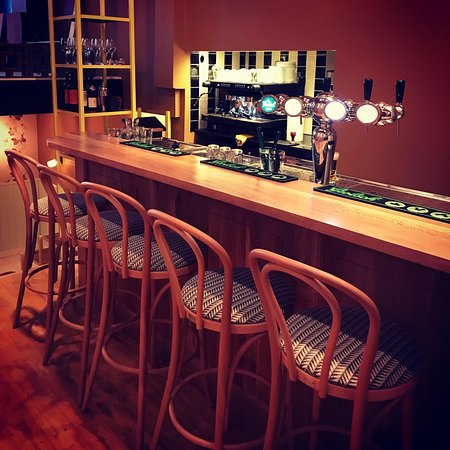 The bar just before we openend!