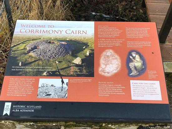 Corrimony Chambered Cairn – fénykép