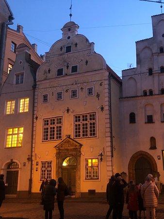 Riga Region, ลัตเวีย: Oudste stenen huizen van Riga