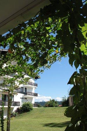 Seeg, Nemecko: Ausblick Sommerterrasse