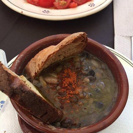 Очень понравился суп Crapiata Materana