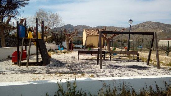Parque en la Alcalá de la Jovada