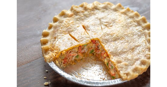 Have you tried our famous Cajun Crawfish Pie—featured on Food Network's, Diners, Drive-Ins and Dives? A perfect dish for your next party or as a savory family meal! Order a personal pie from our menu or take one home from our freezer case. Shipping available!