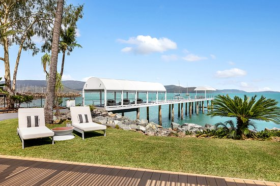 Private jetty - available to guests to relax over the water and view the marine life. No fishing permitted, as we are part of a marine sanctuary.