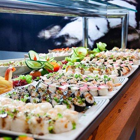Ribeirao Preto, SP: Muito bom toshima Express qualidade no sushi em tudo..telefone 39193320