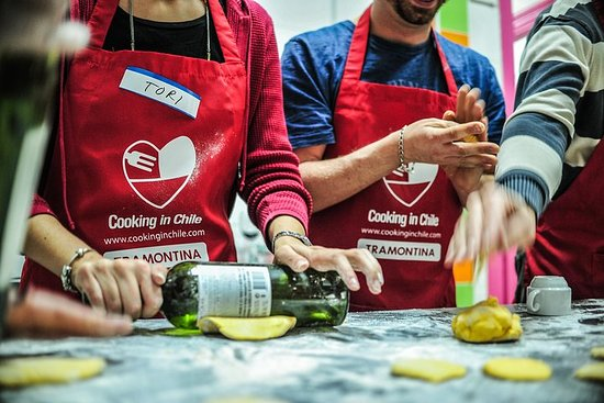 Chilean Cooking Class and Wine Tasting Photo