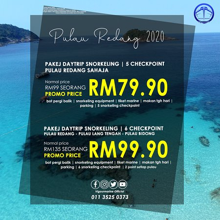 Merang, Maleisië: DAYTRIP SNORKELING AT REDANG 2020 PROMO FROM NOW UNTIL END JANUARY 2020   (COME GRAB THE PROMO BOOKED NOW SELECT YOUR DATE)   5 POINT RM 79.70 NORMAL RM 99.00 6 POINT RM 99.90 NORMAL RM 135.00  INTERESTED CAN CALL OR WHATSAPP +601135250373