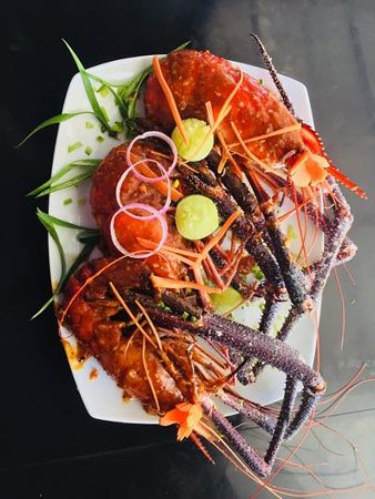 We are offering fresh sea foods