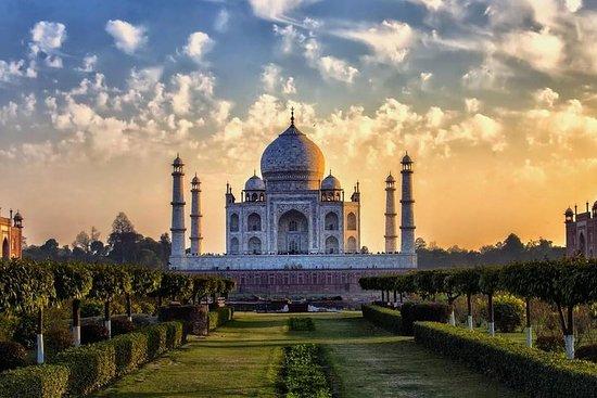 Visite du lever du soleil au Taj Mahal