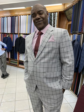Top quality suit and top quality service
