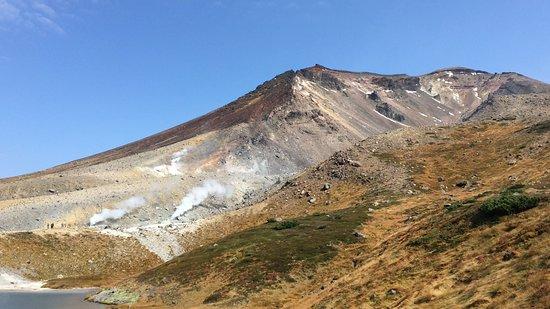 旭岳、定番ながら素晴らしい場所です。人いっぱい。