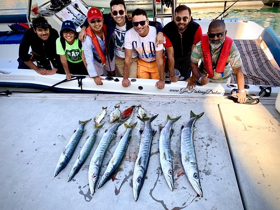 Gehen Sie angeln Dubai 5 Stunden Trolling & Regular Fishing Foto