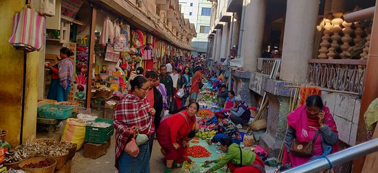 A section of the women's market of Imphal