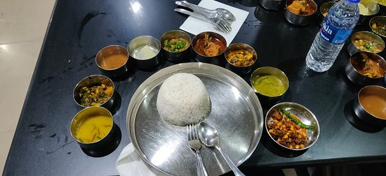 A traditional Manipuri lunch at the famous Luxmi Kitchen