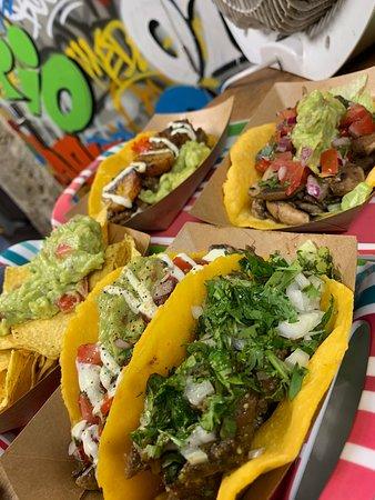 Some delicious tacos