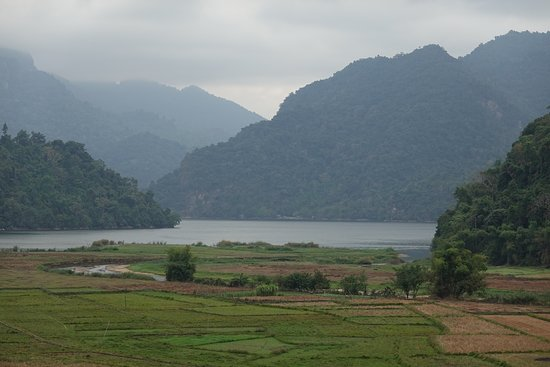 Nothern Vietnam - cloudy day in Ba Be National Park