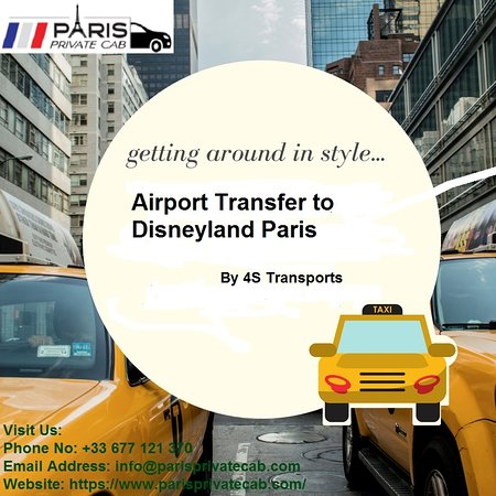 4S Transports  refers to airports serving Paris. These airports are: Charles de Gaulle, Orly and Beauvais airport. @ https://www.parisprivatecab.com/