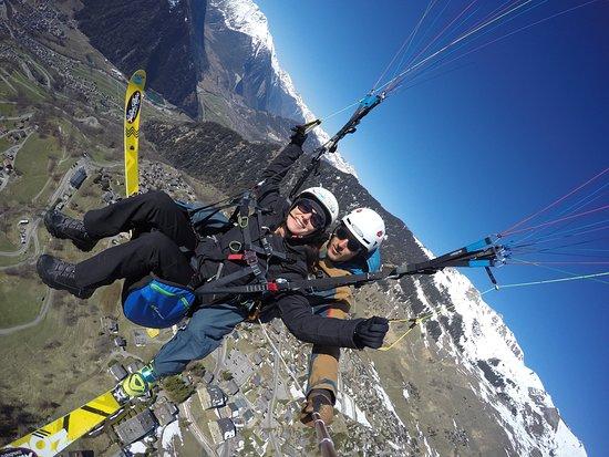 Verbier, Suiza: Vol Biplace parapente