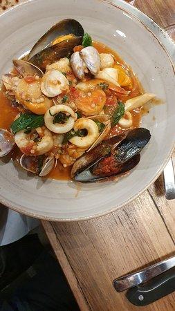 Wonderful Italian food.