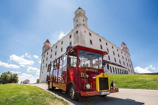 Excursión al castillo de Bratislava...