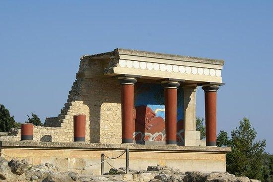 克諾索斯宮和山區老陶器村(豪華冒險)