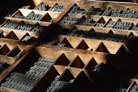 Esperienza di tipografia originale a Città di Castello
