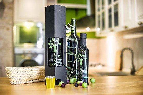 Extra virgin olive oli tasting