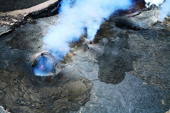 Vulkane und Wasserfall extrem...