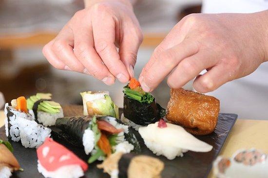 Lær hvordan man laver Vegansk Sushi...
