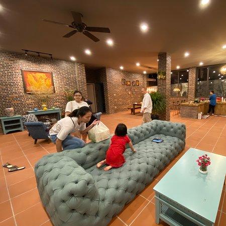 Biệt Thự Brick House Tam Dao Golf by night Liên Hệ : 0985808688