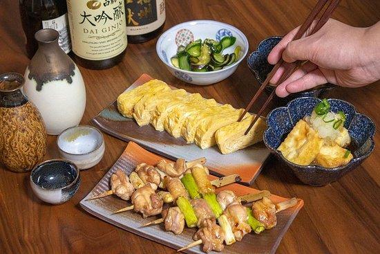 """Cuisine du pub japonais """"IZAKAYA"""" et accord de saké local"""