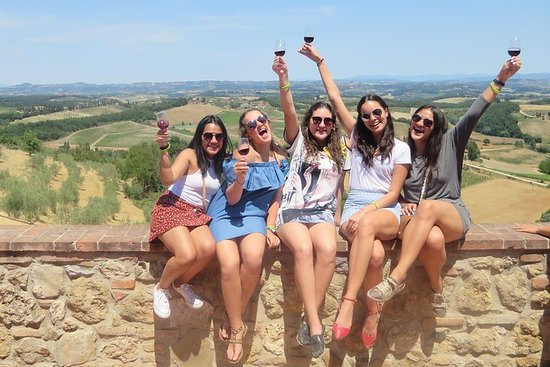 Excursão de vinhos na Toscana