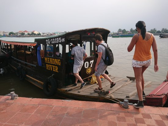 Mekong River Tourist