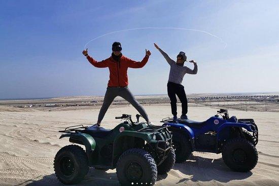 Sand Line Dunes Qatar